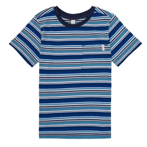 Clothing Boy short-sleeved t-shirts Esprit ERNEST Blue