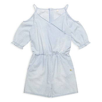 Clothing Girl Jumpsuits / Dungarees Esprit FRANCESCO Blue