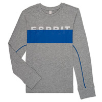 Clothing Boy Long sleeved tee-shirts Esprit FABIOLA Grey