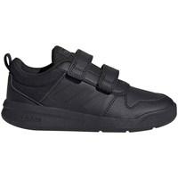 Shoes Children Low top trainers adidas Originals Tensaurus C Black