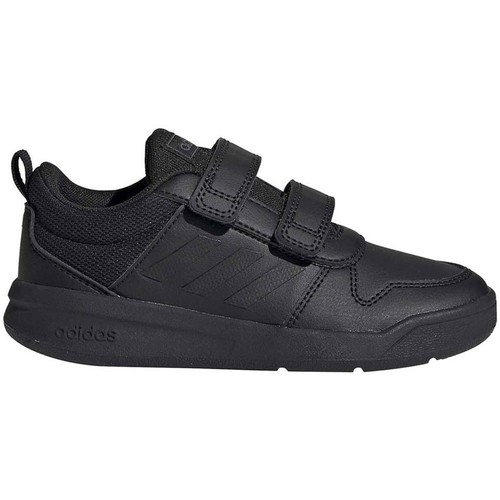 Shoes Children Low top trainers adidas Originals Tensaurus C Black
