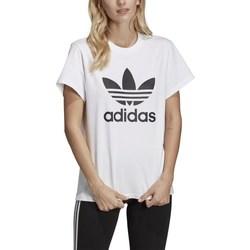 Clothing Women Short-sleeved t-shirts adidas Originals Originals Boyfriend White