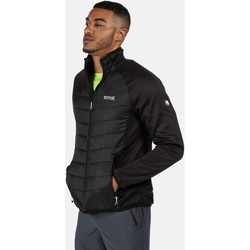 Clothing Men Duffel coats Regatta Bestla Hybrid Lightweight Insulated Walking Jacket Black Black