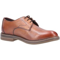 Shoes Men Derby Shoes & Brogues Base London Wayne Burnished Lace Up Shoe brown