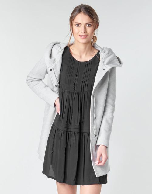 Clothing Women Coats Moony Mood ADELINE Grey / Clear