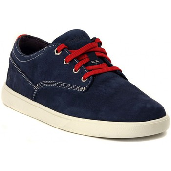 Timberland  GROVETON  NAVY  mens Shoes (Trainers) in multicolour