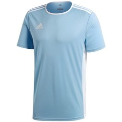 Clothing Children Short-sleeved t-shirts adidas Originals Entrada 18 Light blue