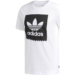Clothing Men Short-sleeved t-shirts adidas Originals BB Solid White