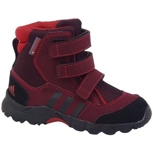 Shoes Children Snow boots adidas Originals CW Holtanna Snow CF Red