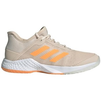 Shoes Women Running shoes adidas Originals Adizero Club W Grey,Beige