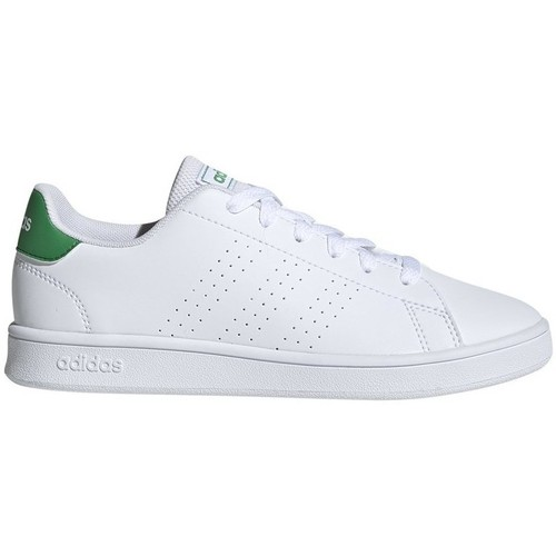 Shoes Children Low top trainers adidas Originals Advantage White