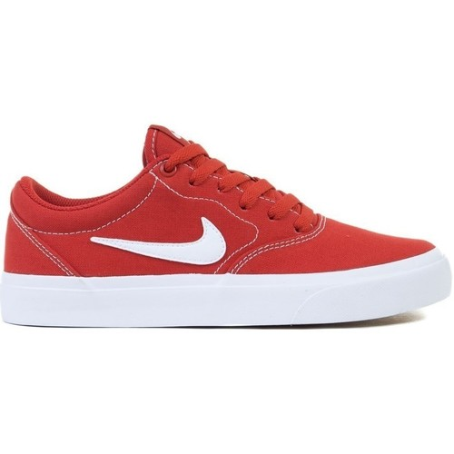 Shoes Children Low top trainers Nike SB Charge GS Red