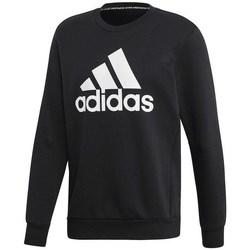 Clothing Men Sweaters adidas Originals MH Bos Crew FL Black