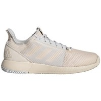 Shoes Women Low top trainers adidas Originals Defiant Bounce 2 W Grey, Beige