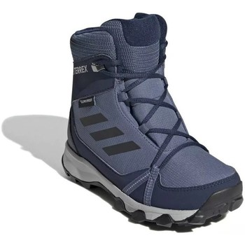 Shoes Children Walking shoes adidas Originals Terrex Snow CP CW K Climaproof Grey,Navy blue