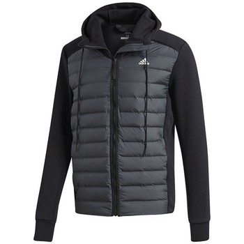 Clothing Men Duffel coats adidas Originals Varilite Hybrid Graphite,Black