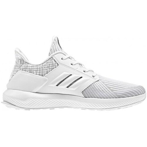 Shoes Children Low top trainers adidas Originals Rapidarun Knit White