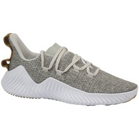 Shoes Men Fitness / Training adidas Originals Alphabounce Trainer White, Beige