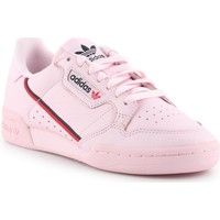 Shoes Women Low top trainers adidas Originals Continetal 80 Pink
