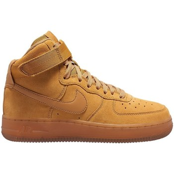 Shoes Children Hi top trainers Nike Air Force 1 High LV8 3 Honey