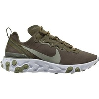 Shoes Women Low top trainers Nike W React  55 Olive