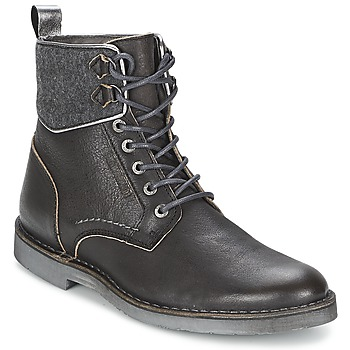 Shoes Men Mid boots Cristiano Ronaldo CR7 GRUNGE 04 Black