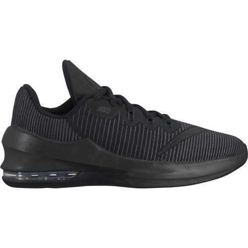 Shoes Children Low top trainers Nike Air Max Infuriate II GS Black