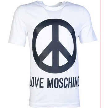 Clothing Men Short-sleeved t-shirts Moschino M47313BE1811_a00white white