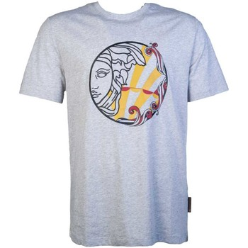 Clothing Men Short-sleeved t-shirts Versace V800683RVJ00626_v7653grey grey