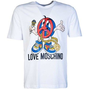 Clothing Men Short-sleeved t-shirts Moschino M47324BM3876_a00white white