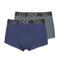 Underwear Men Boxer shorts Hom HOM BOXERLINES BOXER BRIEF HO1 PACK X2 Grey / Marine