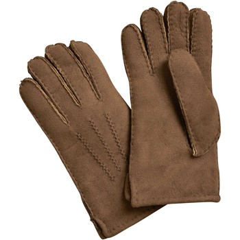 Clothes accessories Men Gloves Woolovers Sheepskin Gloves Brown