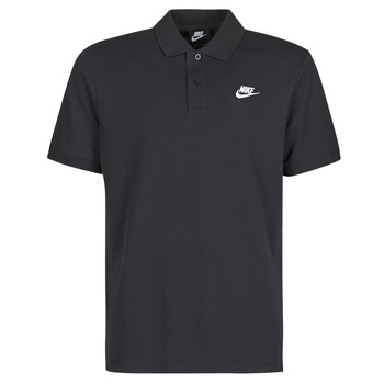 Clothing Men Short-sleeved polo shirts Nike M NSW CE POLO MATCHUP PQ Black / White