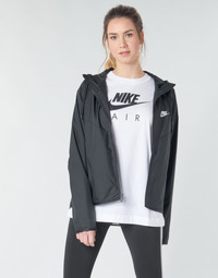 Clothing Women Macs Nike W NSW WR JKT Black / White