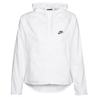 Clothing Women Macs Nike W NSW WR JKT White / Black