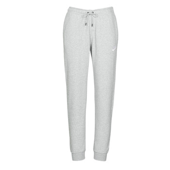 Clothing Women Tracksuit bottoms Nike W NSW ESSNTL PANT REG FLC Grey / White