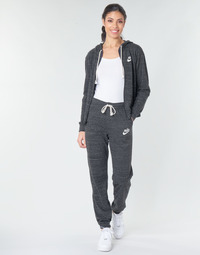 Clothing Women Tracksuit bottoms Nike W NSW GYM VNTG PANT Black