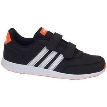 Shoes Children Low top trainers adidas Originals VS Switch 2 Cmf C White,Black,Orange