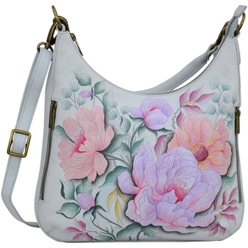 Bags Women Shoulder bags Anuschka 662 Bel Fiori-Hand Painted Leather Multicolour