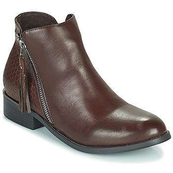 Shoes Women Mid boots Xti  Black