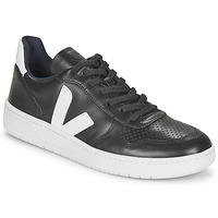 Shoes Low top trainers Veja V-10 Black / White