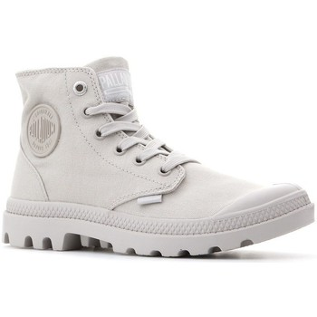Shoes Women Hi top trainers Palladium Pampa HI Mono Cream