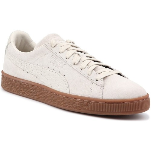 Shoes Men Low top trainers Puma Suede Classic Natural Beige