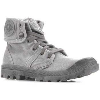 Shoes Men Hi top trainers Palladium Baggy Titanium High Rise Grey