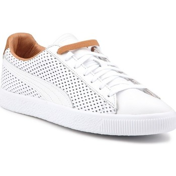 Shoes Men Low top trainers Puma Clyde Colorblock 2 White