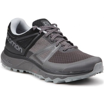 Shoes Men Running shoes Salomon Trailster Gtx Black,Grey,Brown