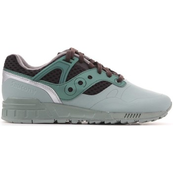Shoes Men Low top trainers Saucony Grid Green,Brown