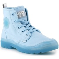 Shoes Women Hi top trainers Palladium Pampalicious W Light blue