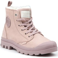 Shoes Women Hi top trainers Palladium Pampa HI Z WL W Pink