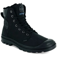 Shoes Men Hi top trainers Palladium Pampa Sport Cuff Wps Black
